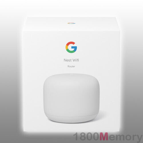 Google Nest Wifi Home Mesh Wi-Fi System Wireless Router Network 1 Pack 802.11s