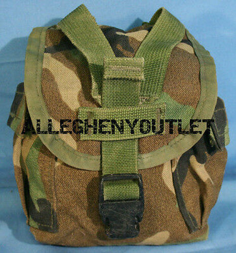 USGI MOLLE II 1 QT Canteen Cover / Utility Pouch Digital ACU VGCPouches - 158437