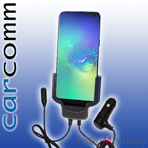 Carcomm Car Power Cradle Charger Dock + Antenna Coupler for Samsung Galaxy S10+