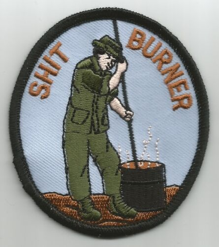 US ARMY - SH!T BURNER - MILITARY PATCH morale humor navyOther Militaria (Date Unknown) - 66534