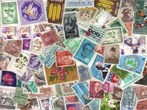 BULK MIX 1,000+ WORLD STAMPS OFF PAPER  inc - FREE  POST IN OZ:   <br/> 2,500  PACKS  SOLD -  BUY FROM THE MOST RELIABLE !!!!