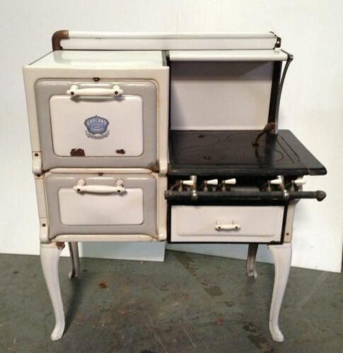 Antique Vintage GARLAND STOVE AND FURNACES Gas Nice