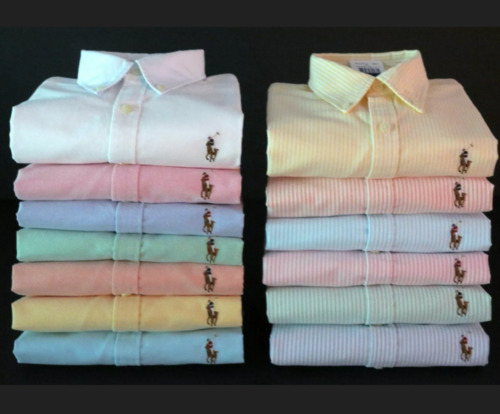 NEW  RALPH LAUREN WOMEN'S LONG SLEEVE  OXFORD BUTTON DOWN CUSTOM FIT SHIRT TOP <br/> FREE VERA BRADLEY GIFT WITH PURCHASE OF TWO MSRP: $12
