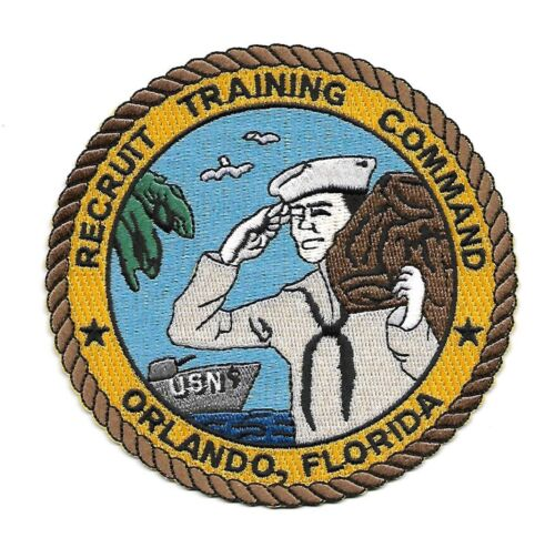 United States NAVY Recruit Training Command Orlando, Florida Military Patch RTCNavy - 66533