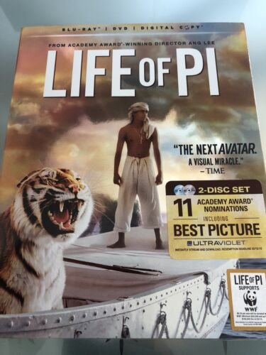 LIFE OF PI****BLU-RAY****REGION FREE****NEW & SEALED