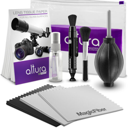 Altura Photo Professional Lens Cleaning kit for Canon Nikon Sony DSLR Camera <br/> #1 Best Seller / DEAL!!! FREE 3 MagicFiber® worth $6.99