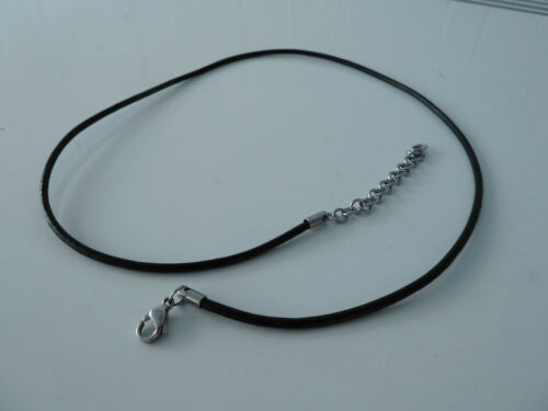 Mens/Womens adjustable(50-60cm)chain/pendant/necklace.leather.BUY 2 GET 3RD FREE