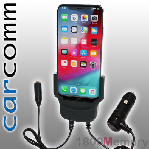 Carcomm Power Active Cradle for Apple iPhone 11 Pro Max Xs Max Car Charger