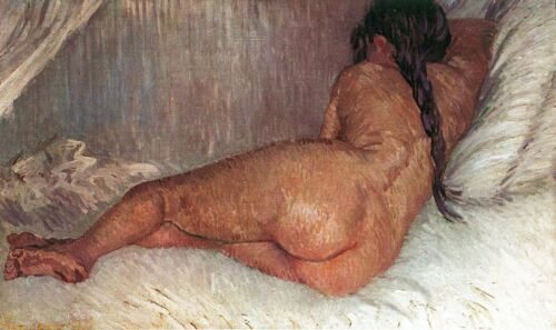 Female Nude by Vincent Van Gogh Giclee Fine Art Print Reproduction on Canvas