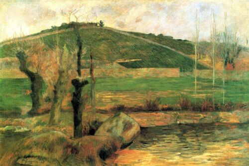 Look at Sainte Margueritte near Pont-Avon by Paul Gauguin Giclee Repro on Canvas