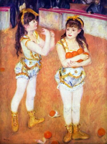 The circus Fernando by Pierre-Auguste Renoir Giclee Fine Art Repro on Canvas