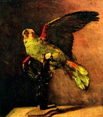 Parrot by Vincent Van Gogh Giclee Fine Art Print Reproduction on Canvas