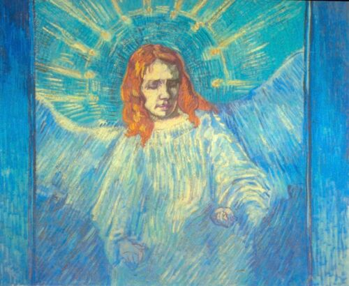Angel by Vincent Van Gogh Giclee Fine Art Print Reproduction on Canvas