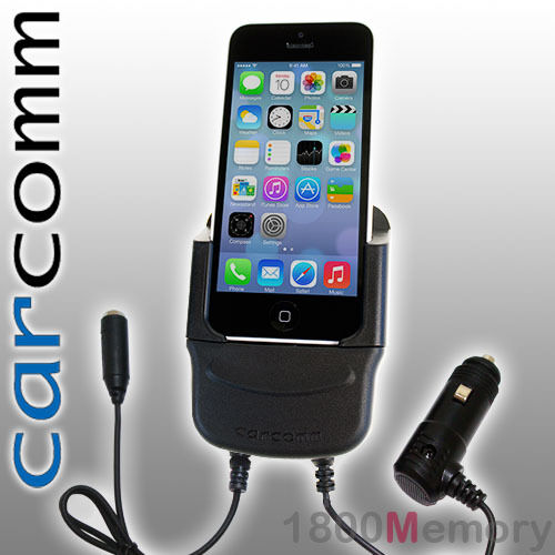 Carcomm Power Cradle for Apple iPhone 5 5S 5C SE Car Charger Kit Antenna Coupler