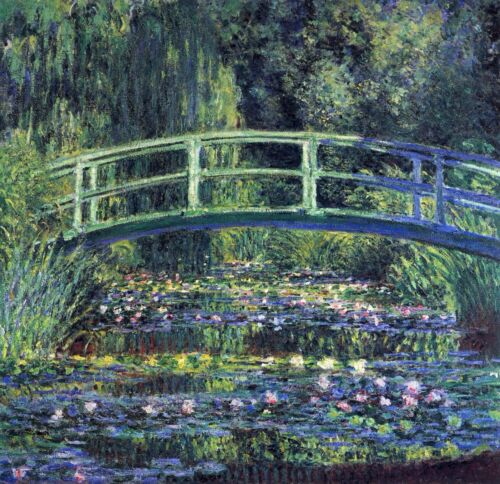 Water Lily Pond #2 by Claude Monet Giclee Fine ArtPrint Reproduction on Canvas
