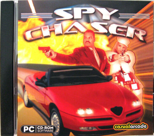 SPY CHASER  -  PC GAME  *** Brand New & Sealed ***