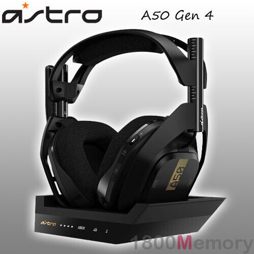 Astro A50 Gen 4 Wireless RF Gaming Headset + Base Station for MS Xbox One PC