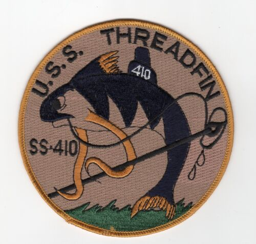 USS Tench SS 417 Otto Embroidered Submarine Ball Cap BC Patch