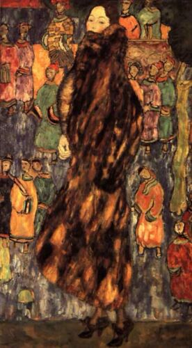Not Detected by Gustav Klimt Giclee Fine ArtPrint Reproduction on Canvas