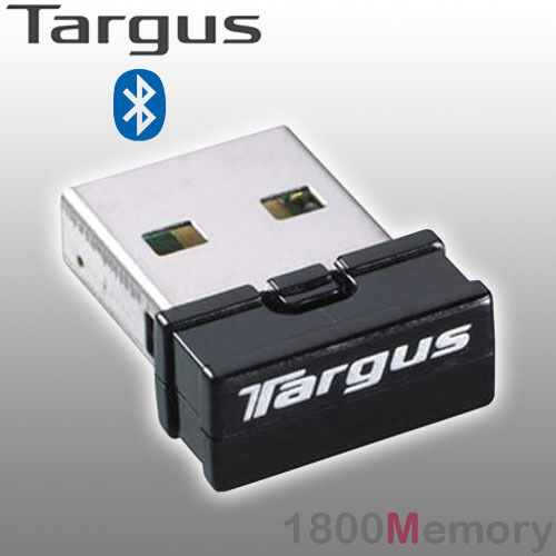 Targus Bluetooth 4.0 Dual Mode Micro USB Adapter Wireless Dongle 10m for PC MAC