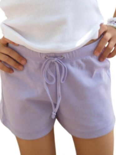 Shorts Girls 100% Cotton Solid Athletic Yoga Drawstring Waist 3-16 SPECIAL VALUE