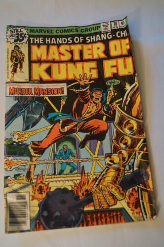 Classic Marvel Comic - 1978 - Master of Kung Fu - Home to Die.