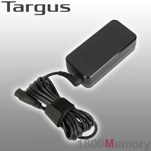 Targus 65W Slim & Light Laptop Charger Notebook Interchangeable Tip System Dell
