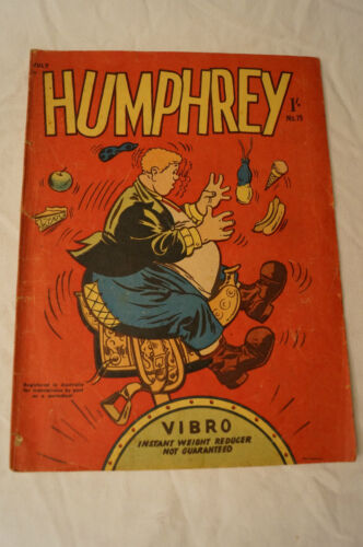 Vintage - Collectable -July 1957 -1 Shilling - Humphrey - Australian Comic Book.