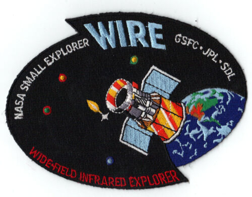 ORBITAL PEGASUS WIRE Small EXPLORER SATELLITE NASA GSFC SPACE Mission PATCH
