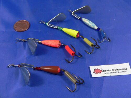 Dieter Eisele a pesca Heavy-Weight x2 OVALE anelli elastici rostfrei 10x5mm 10st