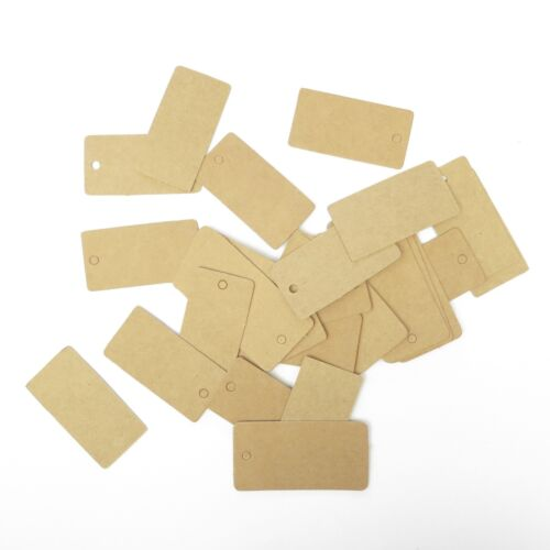 Lot of 50 Pieces Rectangle Hang Tag - 2