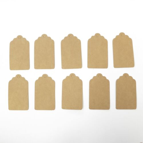 Lot of 10 Pieces Rectangle Hang Tag - 3