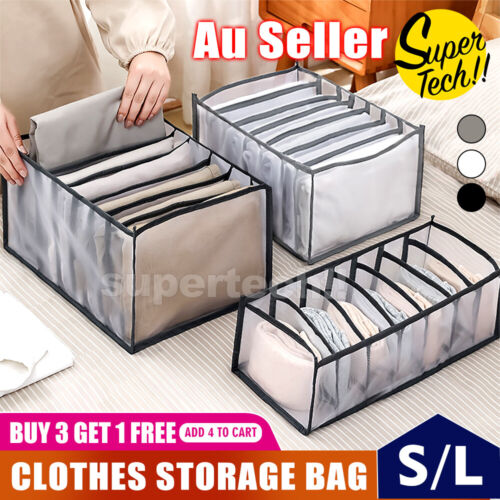 5pcs Packing Cube Pouch Suitcase Clothes Storage Bags Travel Luggage Organiser <br/> ⚠️LOW PRICES⚠️HIGH QUALITY⚠️SYD STOCK⚠️WATER RESISTANT