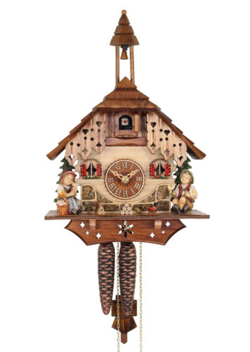 Adolf Herr Cuckoo Clock  - Happy Siblings AH 240/1 NEW