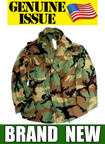 NEW US MILITARY M65 FIELD JACKET GENUINE M-65 ARMY WOODLAND CAMO EXTREME COLD XSOriginal Period Items - 13983