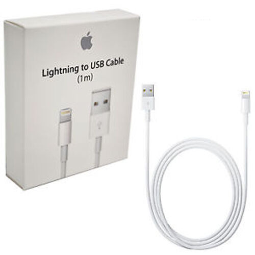 Genuine Apple Lightning Cable 1m MD818 Retail pack iPhone 7/8/X/XS/XR/11 Pro MAX