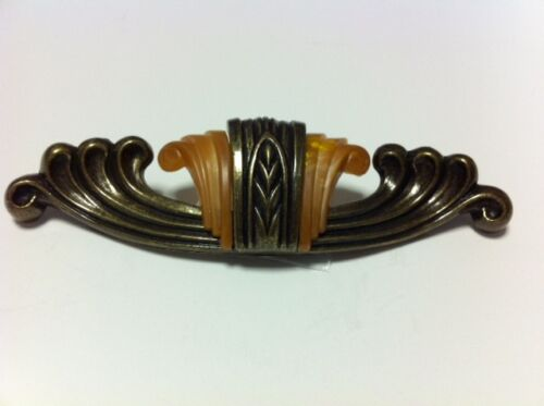 WATERFALL BAKELITE & DIE CAST DRAWER PULL FOR FURNITURE FROM 1930'S - WF-101