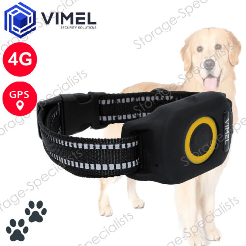 4G Wireless Portable Real Time GPS Dog Tracker Outdoor Waterproof Durable Collar