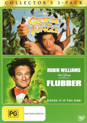 George of the Jungle / Flubber  - DVD - NEW Region 4