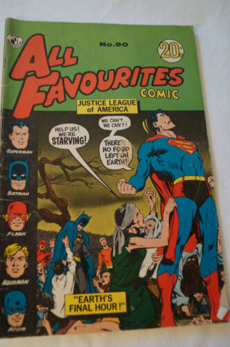 CLASSIC COLOUR COMIC - All Favourites - Justice League - Earth's Final Hour