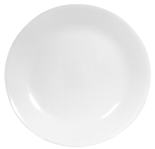 Corelle Winter Frost Dinner Plates, White, 6 Count, New, Free Shipping