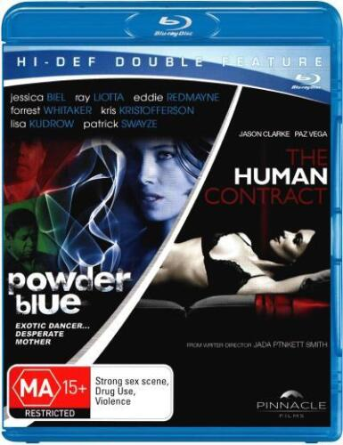 Powder Blue / The Human Contract (Blu-ray Double Thril  - BLU-RAY - NEW Region B