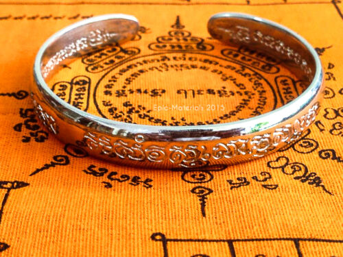 Talisman Bracelet LP Pern Protect Luck Money Attraction Spiritual Amulet Antique
