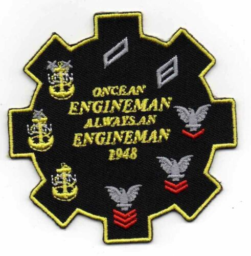 Engineman  Patch USN US NAVYPatches - 36078