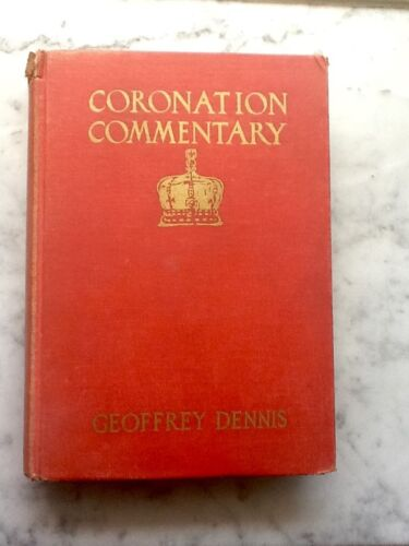 CORONATION COMMENTARY - 1937