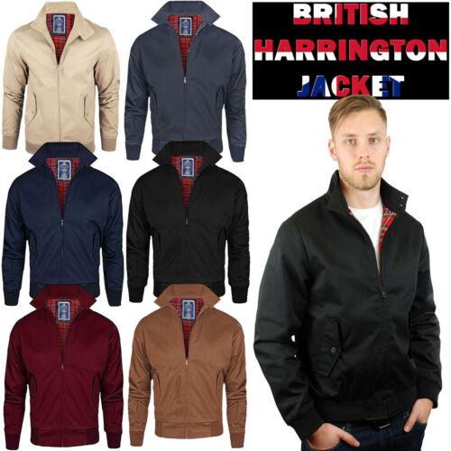 HARRINGTON MEN'S JACKET OGGIE76 ORIGINAL RETRO SCOOTER 1970'S BOMBER COAT TOP .