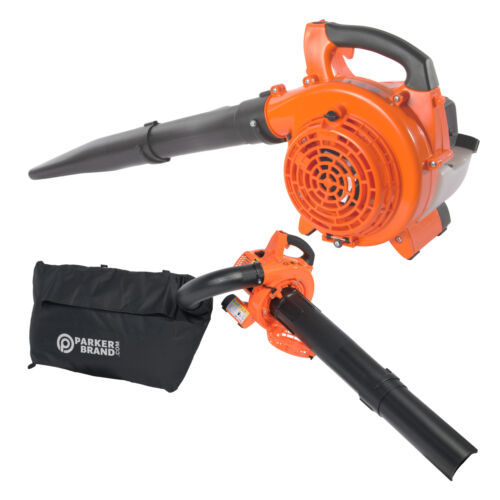 26cc 3-in-1 Petrol Leaf Blower, Vacuum, Mulcher & Shredder <br/> UK Service ✔ Free Delivery* Available ✔ 2 Year Warranty