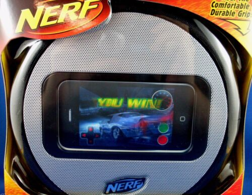 HASBRO NERF iPhone iPod Touch Wheel Speaker Boxed Man Cave Executive Gift - Aust