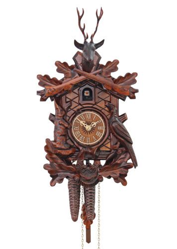 Adolf Herr Cuckoo Clock - The Hunter's Clock AH 275/1 NEW