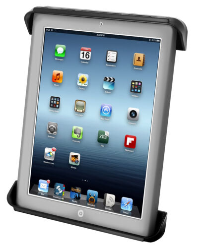 RAM-HOL-TAB3U :: RAM Tab-Tite Universal Cradle for the Apple iPad WITH OR WITHOU